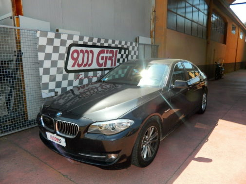 Bmw 520td F11 powered by 9000 Giri