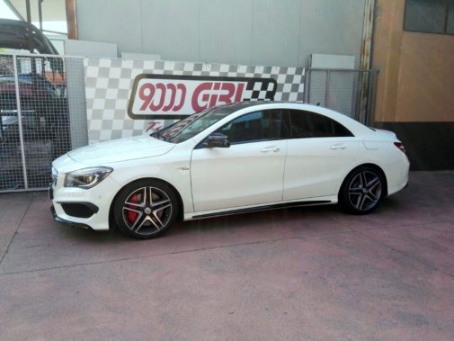 Mercedes Benz Cla 45 Amg powered by 9000 Giri