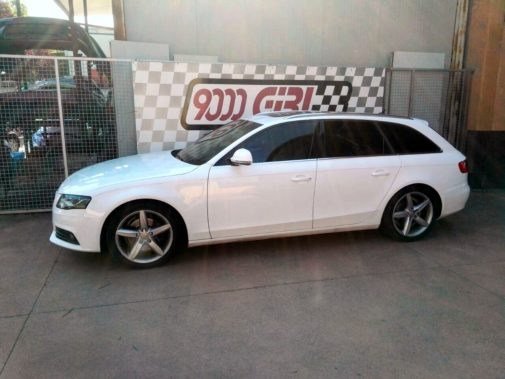 Audi A4 1.8 turbo tfsi powered by 9000 Giri