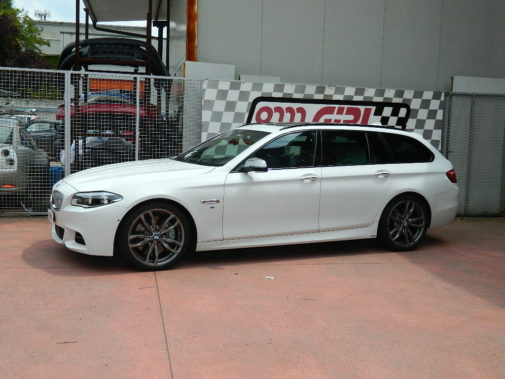 Bmw M550 d Xdrive Touring powered by 9000 Giri