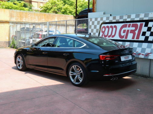 Audi A5 2.0 tdi Sportback powered by 9000 Giri