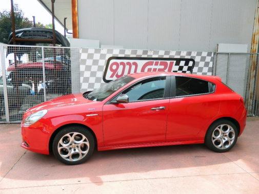 Alfa Romeo Giulietta 1.750 q.v. powered by 9000 Giri