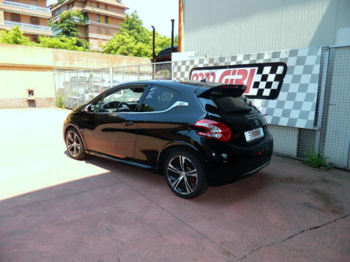 Peugeot 208 gti 200cv powered by 9000 Giri