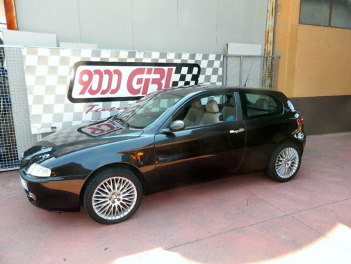Alfa Romeo 147 1.9 jtd powered by 9000 Giri