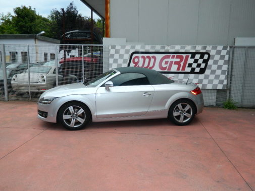Audi TT 2.0 tfsi roadster powered by 9000 Giri