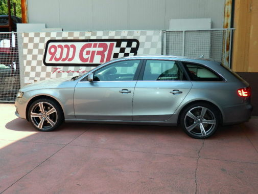 Audi A4 3.0 tdi Avant powered by 9000 Giri