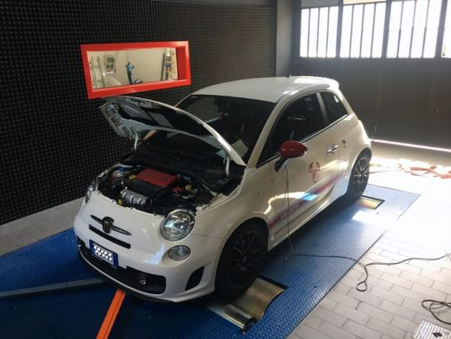 Fiat 500 Abarth Yamaha Factory 595 powered by 9000 Giri
