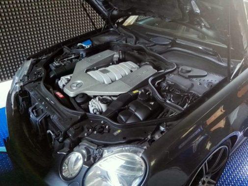 Mercedes E 63 Amg powered by 9000 Giri