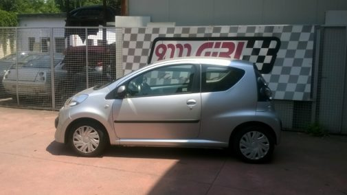 Citroen C1 powered by 9000 Giri