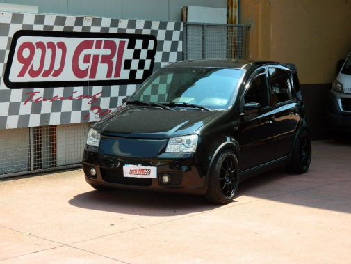 Fiat Panda 100 hp powered by 9000 Giri