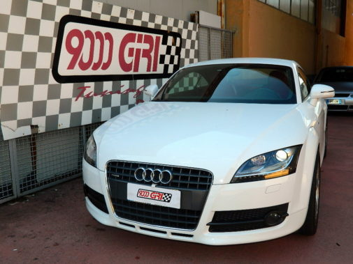 Audi TT 2.0 tdi powered by 9000 Giri