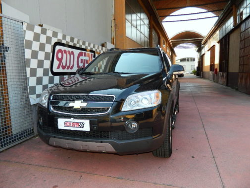 Chevrolet Captiva 2.0 td powered by 9000 Giri