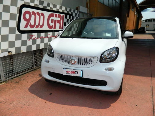 Smart Fortwo 1.0 453 powered by 9000 Giri