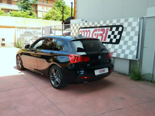 Bmw 118d F31 powered by 9000 Giri