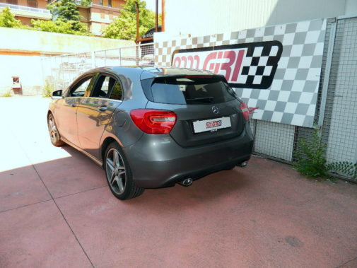 Mercedes Benz A250 powered by 9000 Giri