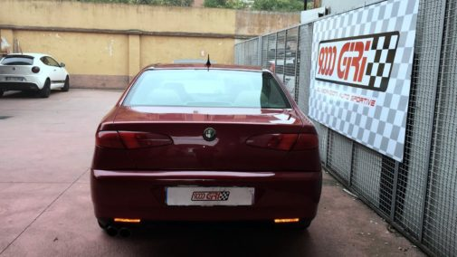 Alfa 166 2.0 v6 turbo powered by 9000 Giri