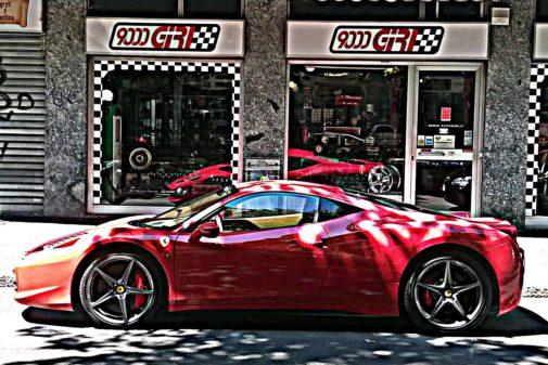 Ferrari 458 powered by 9000 Giri