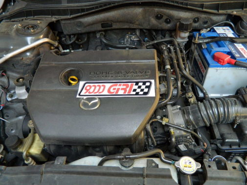 Mazda 6 2.0 16v powered by 9000 Giri