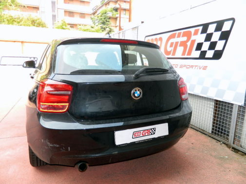 Bmw 114d powered by 9000 Giri