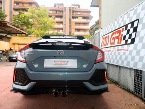 Honda Civic 1.5 turbo powered by 9000 Giri