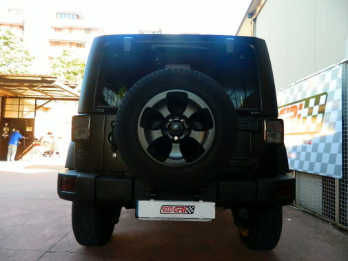 Jeep Wrangler 2.8 crd powered by 9000 Giri
