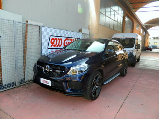 Mercedes Benz Gle 45 Amg powered by 9000 Giri