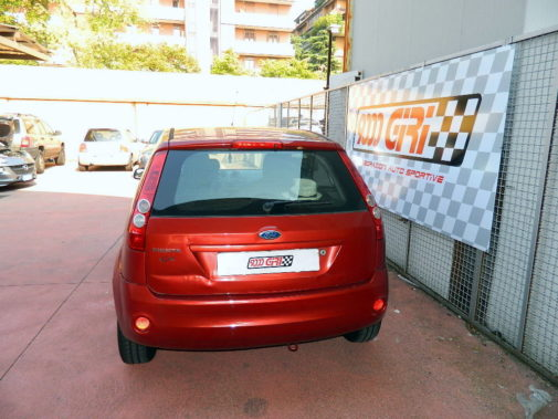 Ford Fiesta 1.4 16v powered by 9000 Giri