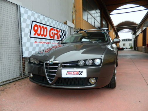 Alfa Romeo 159 1.8 ts powered by 9000 Giri