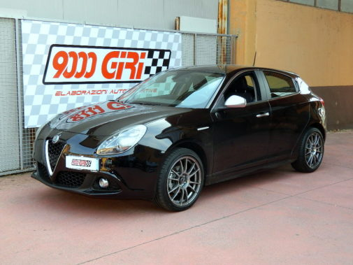 Alfa Romeo Giulietta 1.4 Multiair powered by 9000 Giri