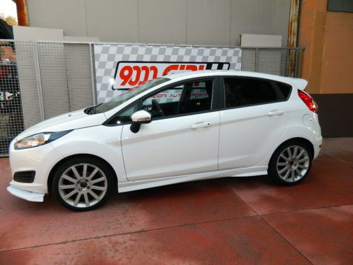 Ford Fiesta Mk7 powered by 9000 Giri