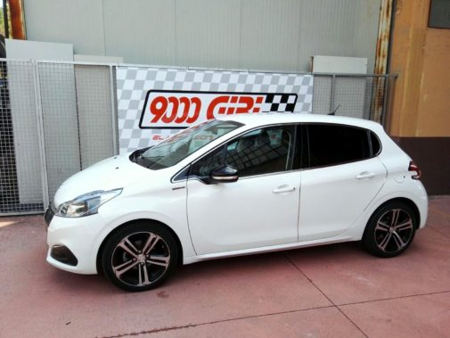 Peugeot 208 1.6 hdi powered by 9000 Giri