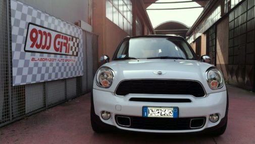 Mini Countryman Cooper D powered by 9000 Giri