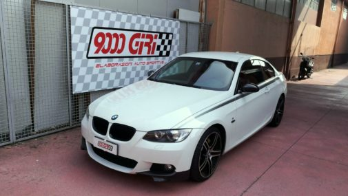 Bmw 335xd powered by 9000 Giri