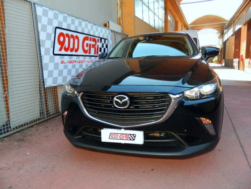 Mazda Cx 3 powered by 9000 Giri
