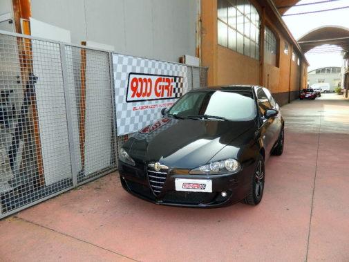 Alfa 147 jtd powered by 9000 Giri