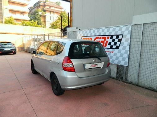 Honda Jazz powered by 9000 Giri