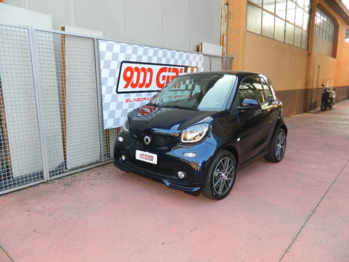 Smart Fortwo Brabus powered by 9000 Giri