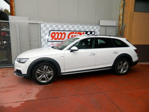 Audi A4 3.0 tdi Allroad powered by 9000 Giri