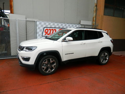 Jeep Compass 2.0 mjet powered by 9000 Giri