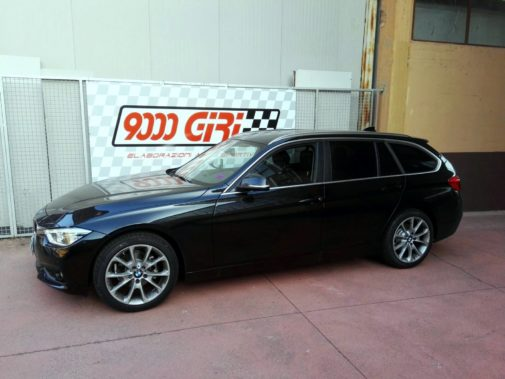 Bmw 316d Twin torbo Touring powered by 9000 Giri