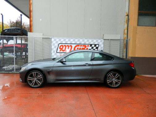 Bmw 430 xdrive powered by 9000 Giri