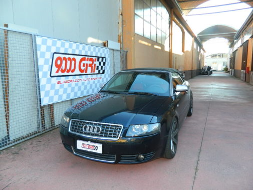 Audi A4 2.0 Tdi cabrio powered by 9000 Giri