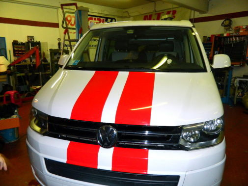 Vw T5 California 2.0 tdi powered by 9000 Giri