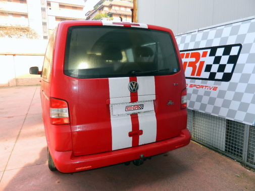 Vw Transporter T5 powered by 9000 Giri