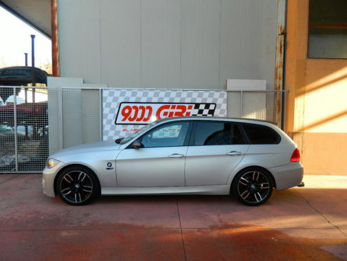 Bmw 320d touring powered by 9000 Giri
