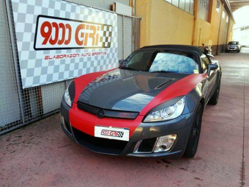 Opel Gt powered by 9000 Giri