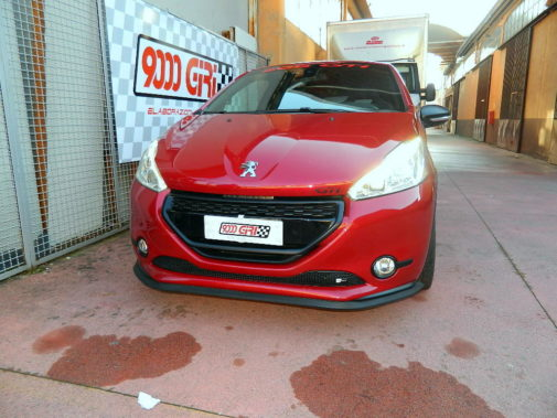 Peugeot 208 gti 30° anniversary powered by 9000 Giri