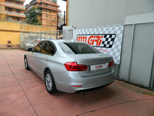 Bmw 318d powered by 9000 Giri
