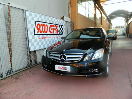 Mercedes Benz E 250 cdi powered by 9000 Giri