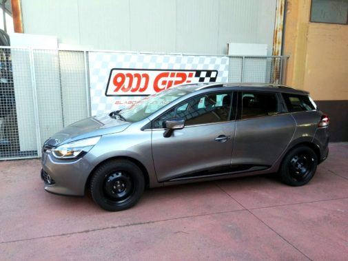 Renault Clio 0,9 tce Grand Tour powered by 9000 Giri